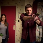 "Supernatural -- ""Love Hurts"" -- Image SN1113a_0377.jpg -- Pictured (L-R): Luciana Carro as Melissa and Jensen Ackles as Dean -- Photo: Diyah Pera/The CW -- © 2016 The CW Network, LLC. All Rights Reserved"