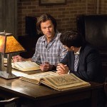 "Supernatural -- ""The Vessel"" -- Image SN1114a_0107 -- Pictured (L-R): Jared Padalecki as Sam and Misha Collins as Castiel -- Photo: Dean Buscher/The CW -- © 2016 The CW Network, LLC. All Rights Reserved."